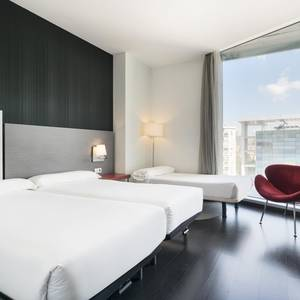 Triple Room Hotel Ilunion Atrium Madrid