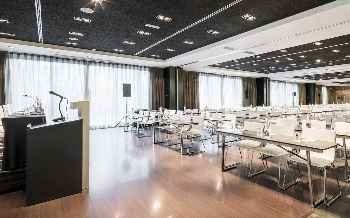 Meeting rooms hotel ilunion atrium madrid
