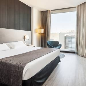 Double room Hotel ILUNION Atrium Madrid